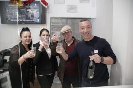 Un cuarto premio de la Lotería de Navidad, vendido en Palma y la Colònia de Sant Jordi