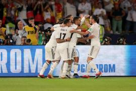 El Real Madrid exhibe el poderío del campeón
