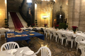 Noguera celebra una cena de Navidad con los usuarios del Servei d'Acollida Municipal