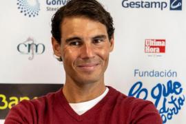 Rafael Nadal: «Mi pretemporada es mejor que la del año pasado»