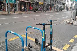 El Ayuntamiento de Palma no dará un ultimátum para que se retiren los patinetes de alquiler de la vía
