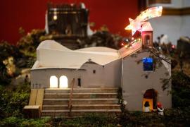El belén inspirado en el pueblo de Sant Joan de Labritja, en imágenes (Fotos: Arguiñe Escandón).