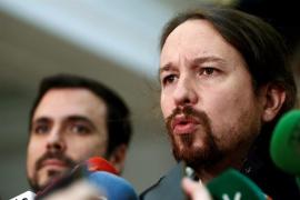 """Pablo Iglesias reconoce """"aciertos"""" en el discurso del Rey y """"el cambio de tono"""" con respecto a Cataluña"""