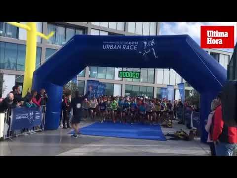 Cientos de personas corren en la III 'Rafa Nadal Urban Race', que recauda 10.000 euros para el Llevant de Mallorca