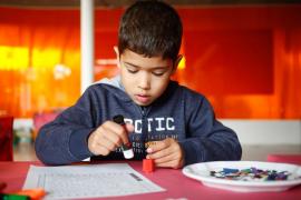Las actividades infantiles de Riuland, en imágenes (Fotos: Arguiñe Escandón).