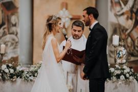 La ceremonia de ensueño de Diego Godín y Sofía Herrera