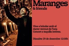Concierto de Jordi Maranges en Rata Cornes para despedir el año
