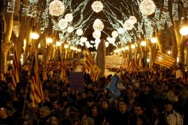 Los soberanistas llaman a celebrar la Diada de Mallorca en clave republicana