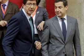 Marta Bosquet (Cs) es la presidenta del Parlamento andaluz