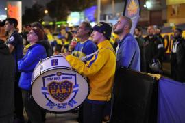 El Boca Juniors jugó en Segunda