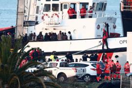 El Open Arms llega a puerto con niños en situación «muy vulnerable»