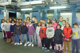 Alumnes del Ceip Juníper Serra de Petra varen visitar Grup Serra i Endesa