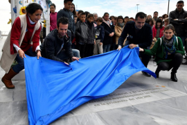 Los padres de Gabriel Cruz, el niño asesinado en Almería, inauguran el espacio 'Ballena' dedicado a hijo