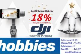 iHobbies, especialistas en drones y artículos de radiocontrol