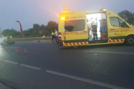 Un conductor herido grave tras salirse de la vía entre Can Picafort y Son Serra