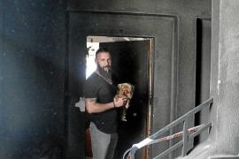Vecinos del edificio incendiado en Palma critican la falta de apoyo de Cort