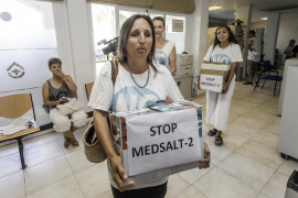 Mar Blava lamenta en su balance de 2018 la reactivación del MedSalt-2