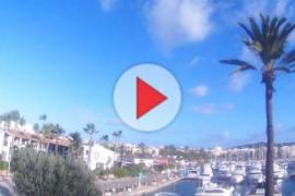 Jornada fría y de fuertes vientos en Mallorca