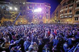 La plaza de Cort se iluminará la próxima Navidad