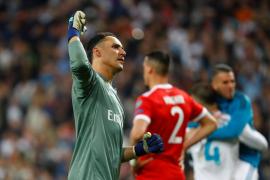 Keylor Navas renueva con el Real Madrid hasta 2021