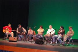 'Combat de Glosat de picat' en el Auditori d'Alcúdia