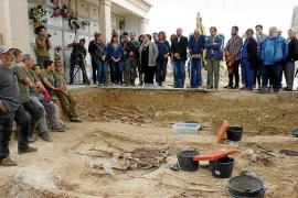 Admitida la demanda para desbloquear la exhumación de la fosa de Porreres
