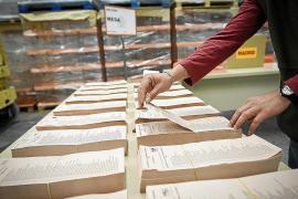 Las papeletas al Parlament serán amarillas si hay 'superdomingo' electoral