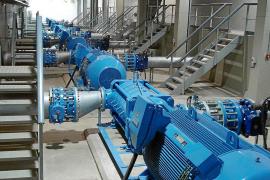 Las grandes reservas de agua reducirán sus fugas para ahorrar el equivalente al Gorg Blau