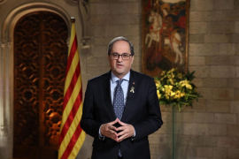 Torra: No depondrán más un Gobierno en Cataluña, porque «no nos rendiremos»