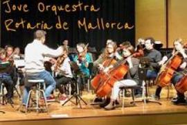 Concierto de la Jove Orquestra Rotaria de Mallorca en Alcúdia