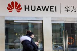 Huawei utiliza un iPhone para felicitar el año a sus clientes