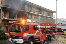Un muerto y un herido en un incendio de una nave en Jaén