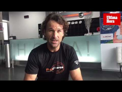 El extenista Carlos Moyá nos explica cómo adoptar hábitos saludables en el gimnasio