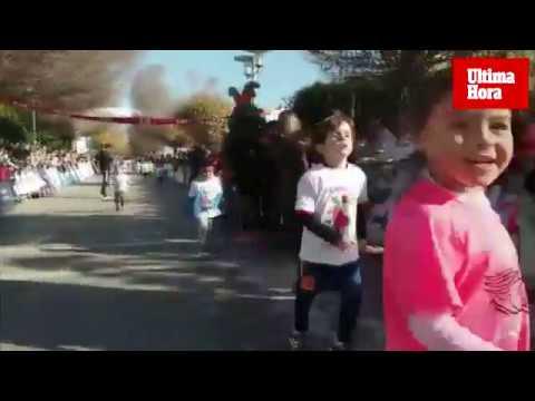 Pequeños atletas en la Carrera Infantil de Reyes