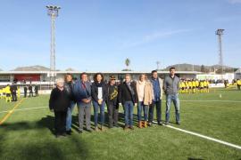 Sant Llorenç recupera el campo de fútbol destrozado por la torrentada del Llevant