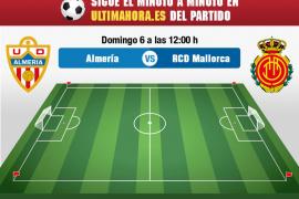 Así ha sido el Almería-Real Mallorca en directo