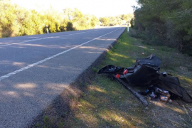 Fallece un joven en accidente de tráfico entre Manacor y Felanitx