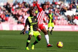 El Real Mallorca estrena el año con una clara derrota en Almería (2-0)