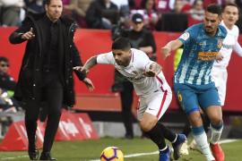 El Atlético empata con el Sevilla y mantiene el segundo puesto