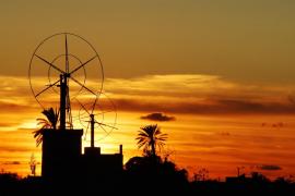 Posta de sol prop de Son Ferriol