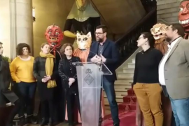 Un pregón matutino y satírico para Sant Sebastià 2019