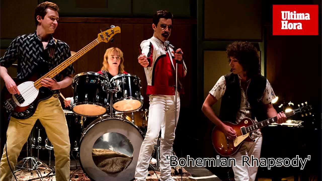 'Bohemian Rhapsody' y 'Green Book' se llevan los principales Globos de Oro