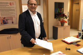 Alfonso Rodríguez repite como cabeza de lista de la candidatura socialista en Calvià
