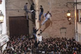 Sant Antoni en Pollença: El 'Pi de Ternelles', protagonista de la fiesta