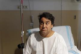 Guillem Coll, hospitalizado por una anemia en Son Llàtzer
