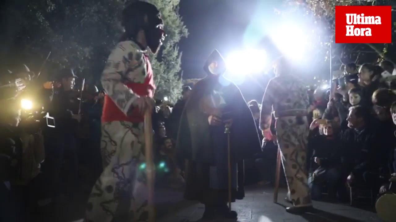 Devoción por Sant Antoni con el 'primer ball' de los 'dimonis' en Manacor