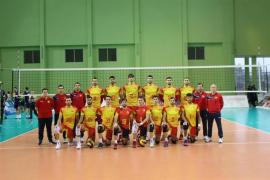 Jordi Ramón debuta con la absoluta de voleibol en partido oficial