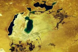 Un satélite muestra el desastre ecológico del cuarto lago más grande de la Tierra