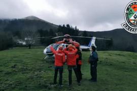 Cae una avioneta en el municipio guipuzcoano de Errezil