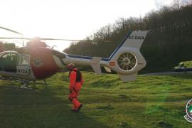 Hallan el cuerpo de uno de los tripulantes de la avioneta estrellada en el monte Ernio